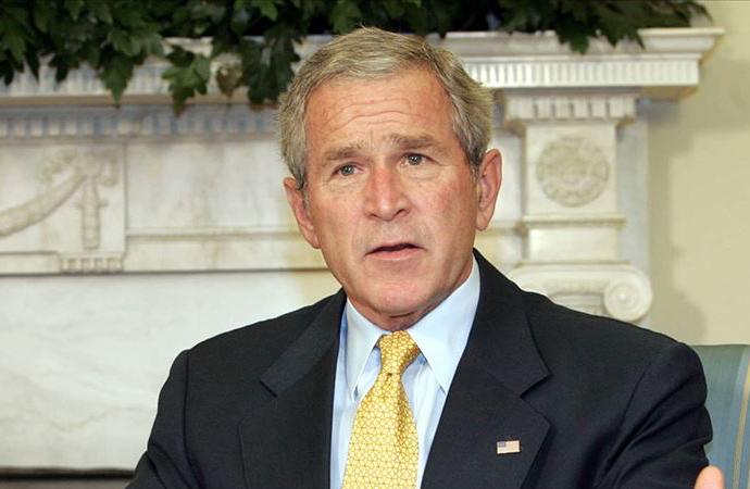 Eski ABD Başkanı Bush, Biden'ı tebrik etti