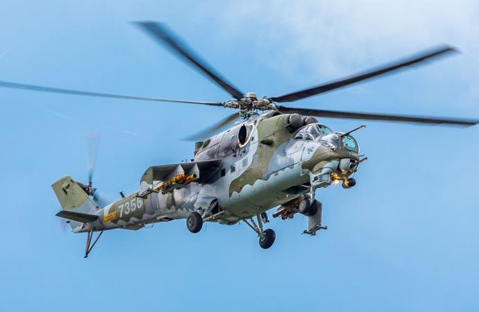 Rus askeri helikopteri Ermenistan'da düşürüldü