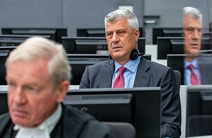 Kosova eski Cumhurbaşkanı, Lahey'de hakim karşısına çıktı