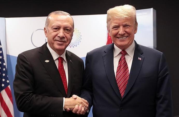 Erdoğan Trump'a sıcak dostluğu için içtenlikle teşekkür etti