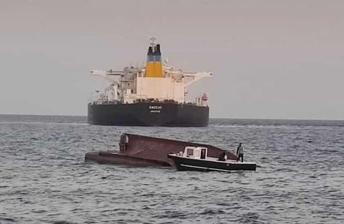 Yunan tankeri Türk balıkçı teknesine çarptı: 4 ölü