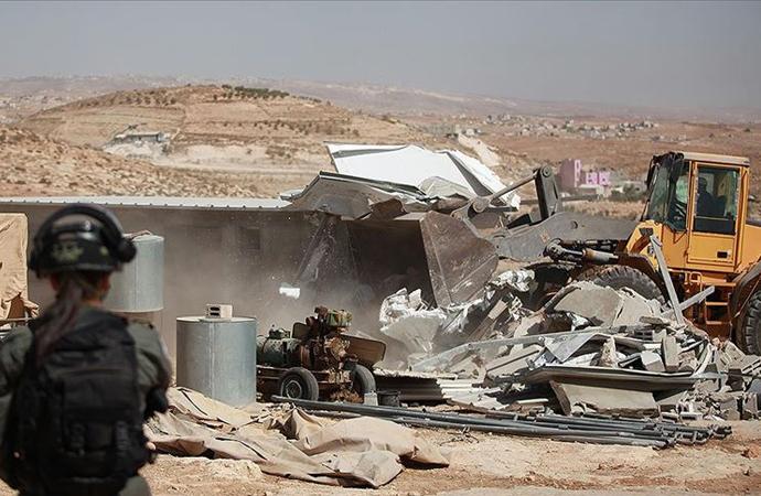 'Batı Şeria yıllardır en büyük yıkım işlemine tanık oluyor'