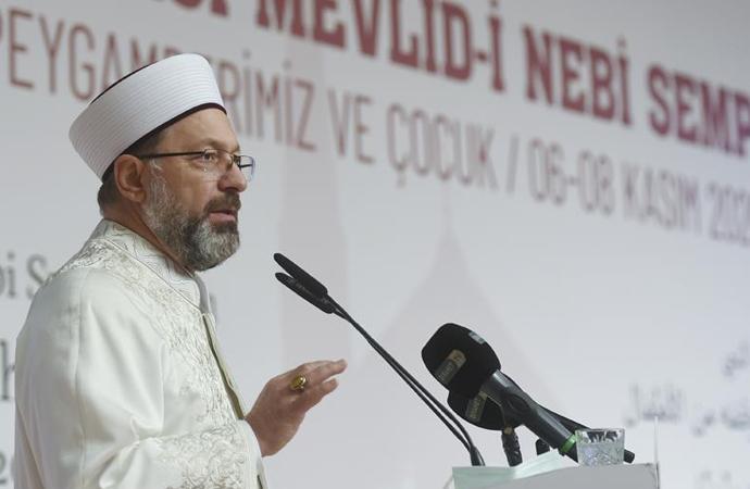 """Online """"Uluslararası Mevlid-i Nebi Sempozyumu"""" başladı"""