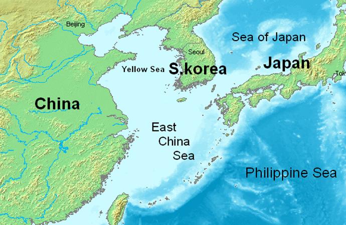 Doğu Çin denizinde 3 ülke tatbikat yapacak