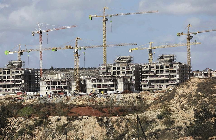 İsrail Kudüs'te 9 bin yerleşim inşaatını hızlandırdı