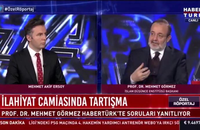 Mehmet Görmez Habertürk'te soruları yanıtladı