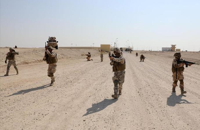 MSB'den Katar'da görevli komandolara eğitim