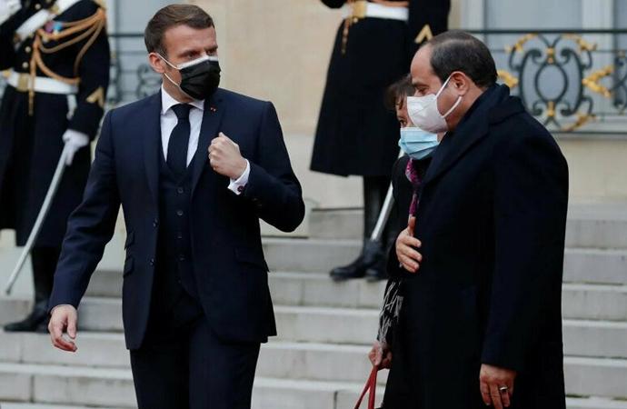 Fransa'dan Mısır Cumhurbaşkanına onur ödülü