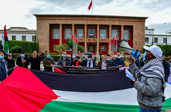 Fas'ın 'Siyonist yapı ile normalleşme' çabasına kınama