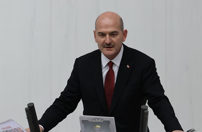 """Süleyman Soylu: """"HDP'yi kriminalize eden PKK'dır"""""""