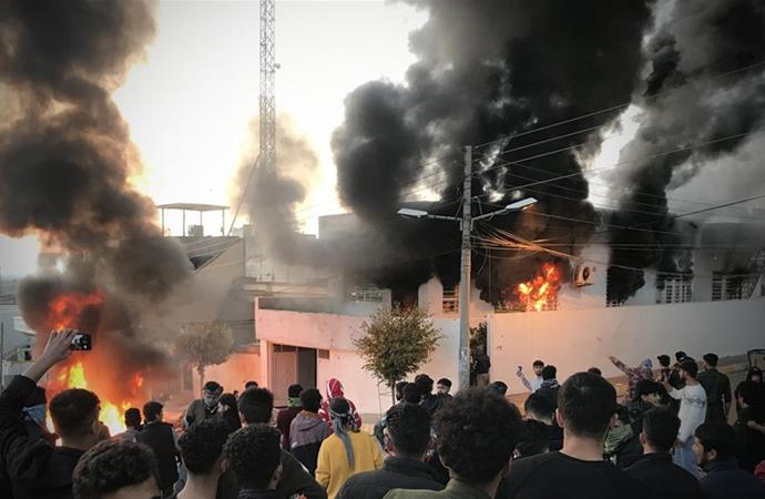 Süleymaniye'deki hükümet karşıtı protestolar nasıl okunabilir?