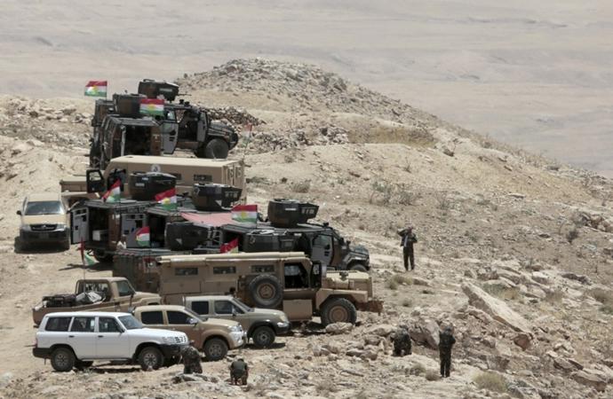 PKK Suriye üzerinden Irak'taki Peşmerge'ye saldırdı
