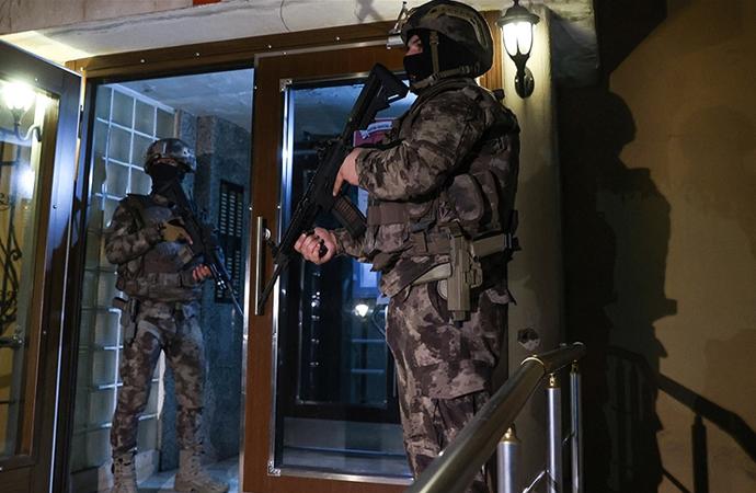 İstanbul merkezli 5 ilde DHKP-C operasyonu