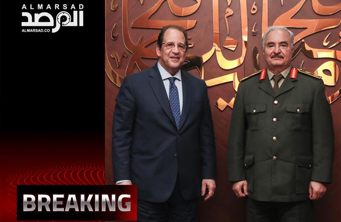 Mısır istihbaratı başkanı Bingazi'de Hafter'le görüştü