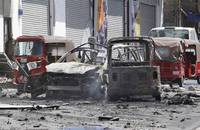 Somali'deki bombalı saldırıda ölenlerin sayısı 21'e yükseldi