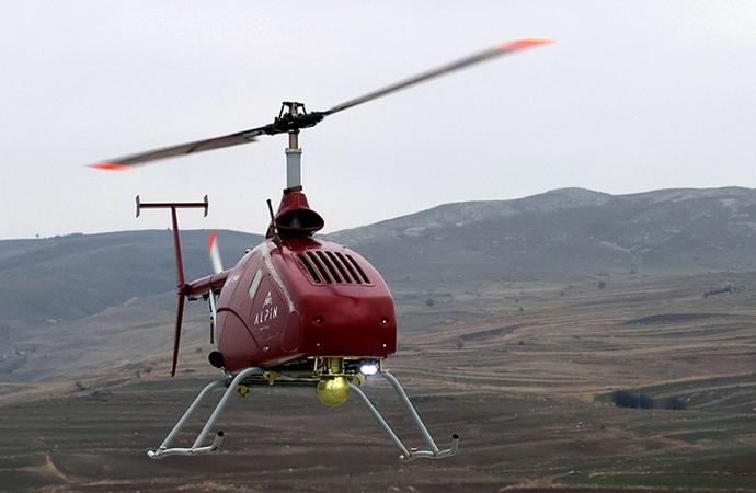 İnsansız helikopter havada limitleri zorlayacak