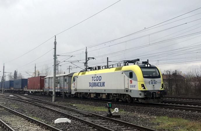 Türkiye'den Çin'e gidecek ikinci ihracat treni Kocaeli'ye ulaştı