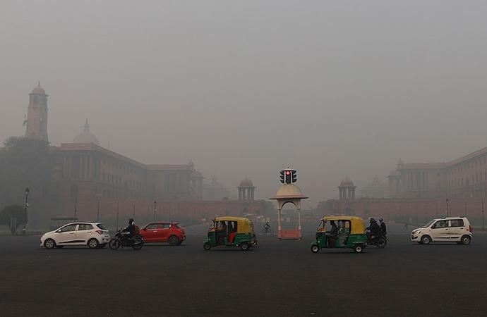 Hindistan'da geçen yıl 1 milyon 670 bin kişi hava kirliliğinden öldü