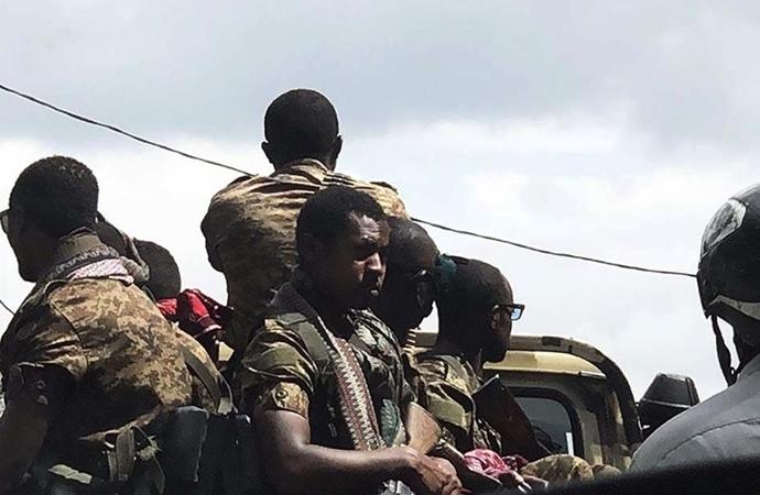 Etiyopya'da sivil katliamıyla ilgili hükümet yetkilileri gözaltına alındı