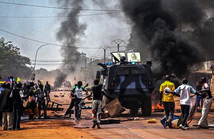 Orta Afrika Cumhuriyeti savaş alanına döndü