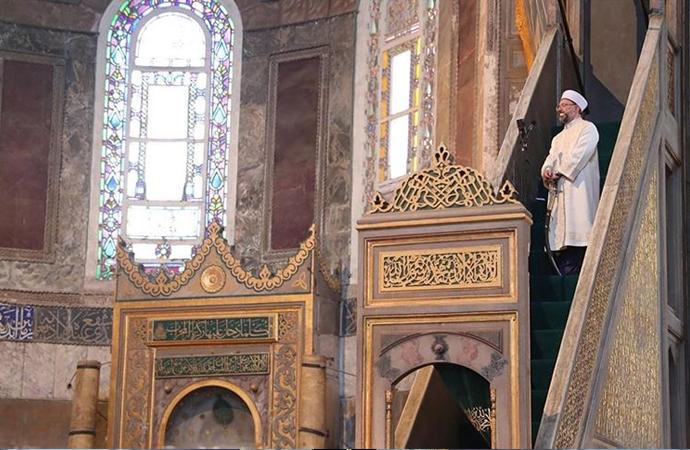 Camilerde 'İçkinin zararları' anlatıldı