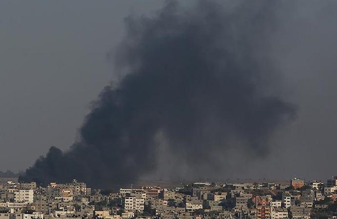 'İsrail'in vurduğu çocuk hastanesi büyük hasar gördü'