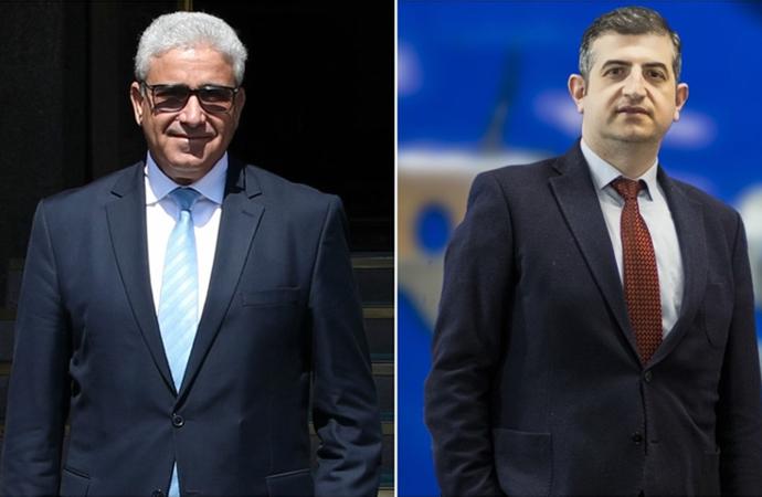 Libya İçişleri Bakanı Başağa, Baykar Genel Müdürüyle görüştü