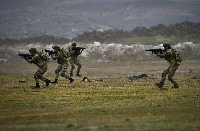 MSB: Barış Pınarı bölgesine sızmak isteyen PKK/YPG'liler etkisiz hale getirildi
