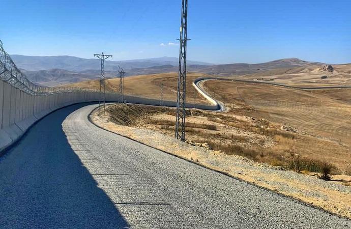 Ağrı-İran sınırına 81 kilometrelik Güvenlik Duvarı