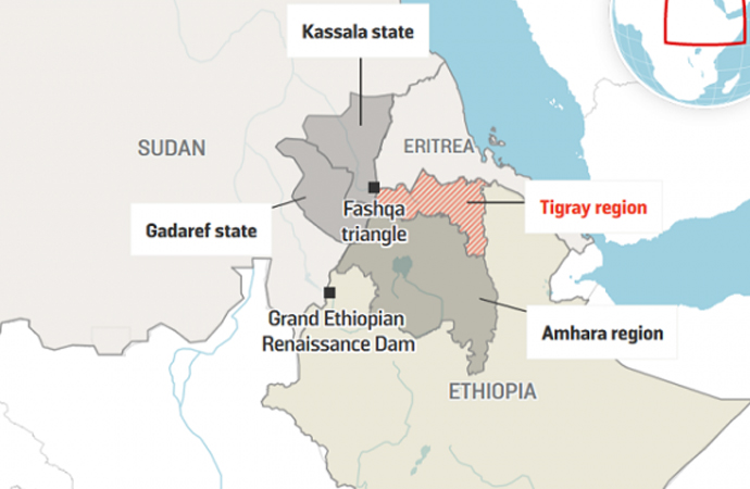 Sudan ve Etiyopya sınır sorunlarını görüşecek