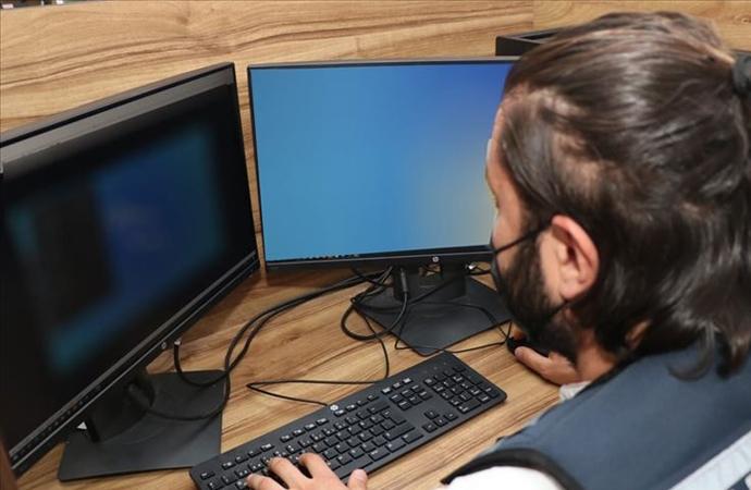 Jandarmanın takibi ile 302 internet sitesi erişime kapatıldı