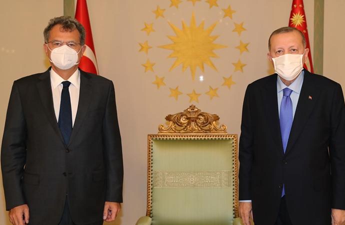 Erdoğan-Kaslowski görüşmesi