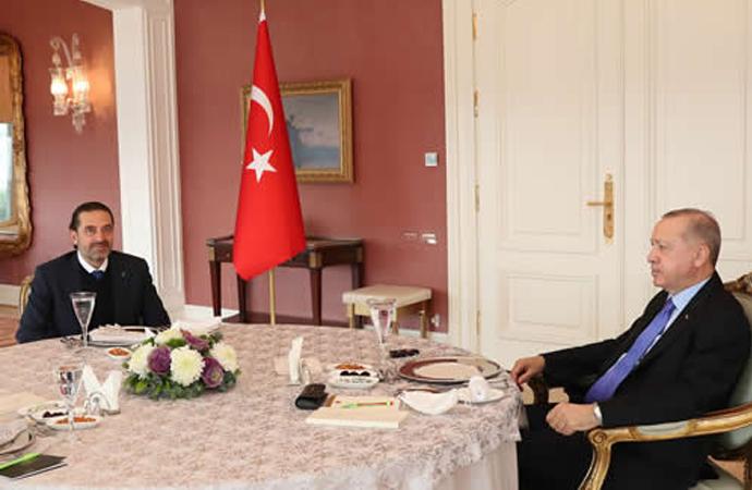Lübnan'da hükümeti kurmakla görevlendirilen Saad Hariri, Erdoğan'ı ziyaret etti