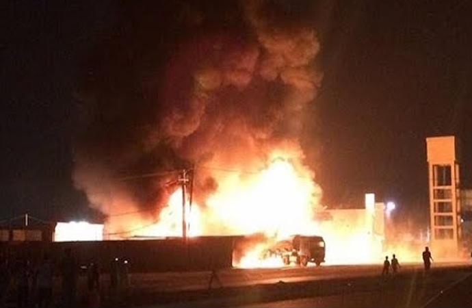 ABD liderliğindeki koalisyon konvoyuna Bağdat'ta saldırı