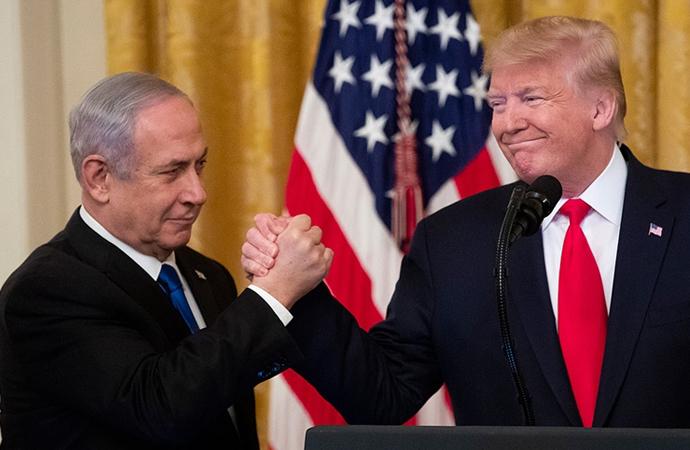 Netanyahu Twitter hesabından Trump'ın fotoğrafını kaldırdı