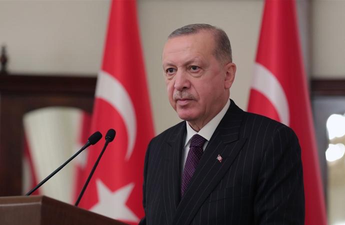 Erdoğan, sosyal medya uygulaması Telegram'dan mesaj paylaştı