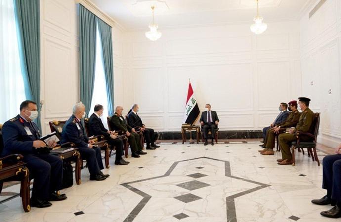 Irak Başbakanı, Hulusi Akar ve Genelkurmay Başkanı Güler'i kabul etti