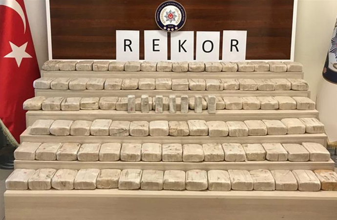 2020'de Türkiye'de 159 bin uyuşturucu operasyonu