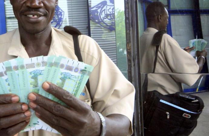 Sudan sterlini 'Cüneyhi' dolar karşısında dip yaptı