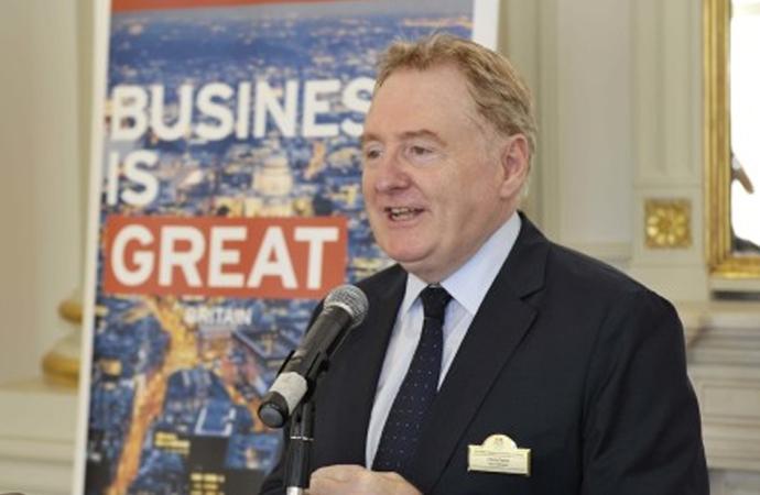 'İngiliz şirketler Türkiye'yi bölgesel merkez olarak görüyor'