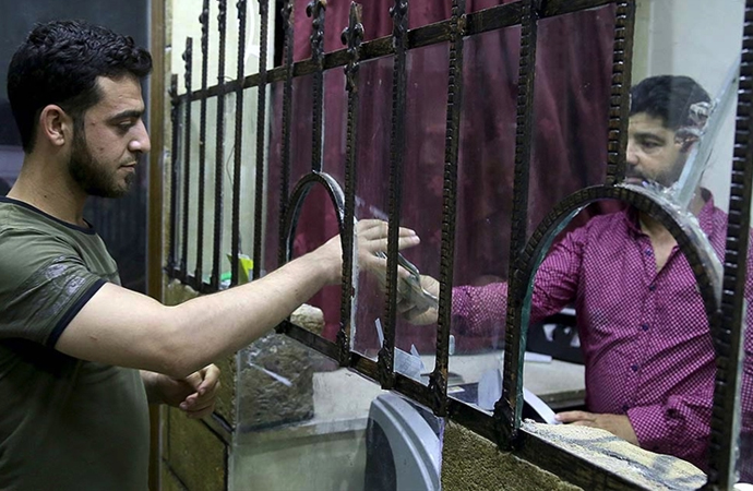 Suriye'de yüksek enflasyon nedeniyle 5 bin liralık yeni banknot