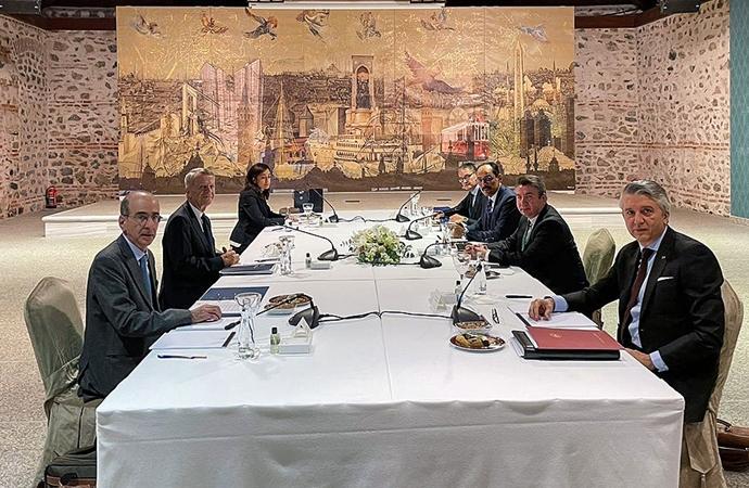 Türkiye ve Yunanistan arasındaki görüşmelerin 61. turu