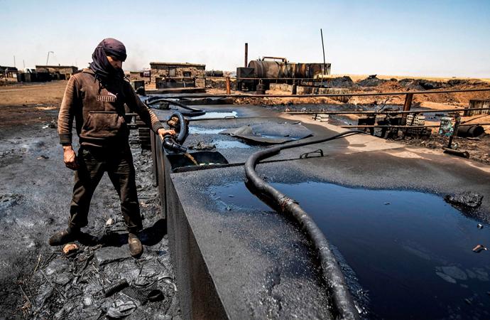 Suriye petrolü, Delta şirketi, Rus heyetin faaliyetleri
