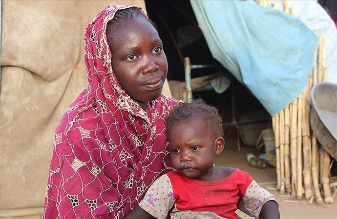 Güney Sudan'da 7 milyon insan açlık, 1,7 milyon aşırı açlık mücadele ediyor
