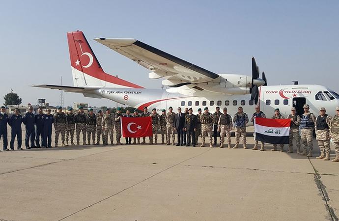 NATO Irak Misyonu'nda görev yapacak Türk personel Irak'a gitti