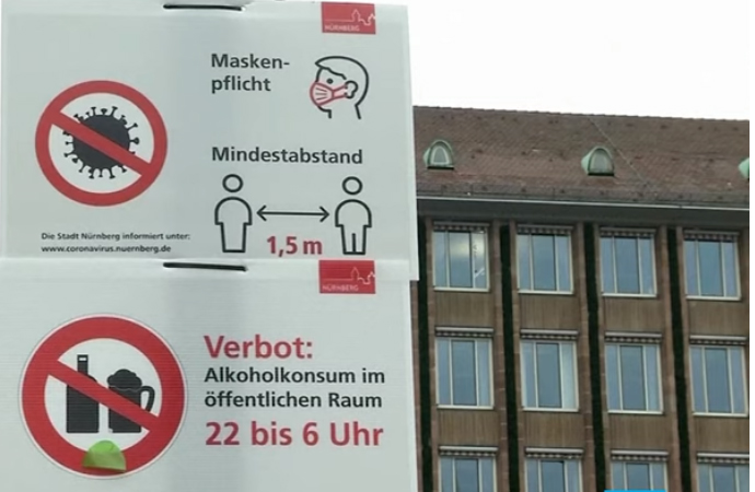 Almanya'da bir günde 903 kişi koronadan hayatını kaybetti