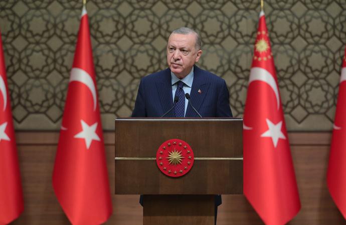 Erdoğan'dan Holokost'u Anma Günü mesajı