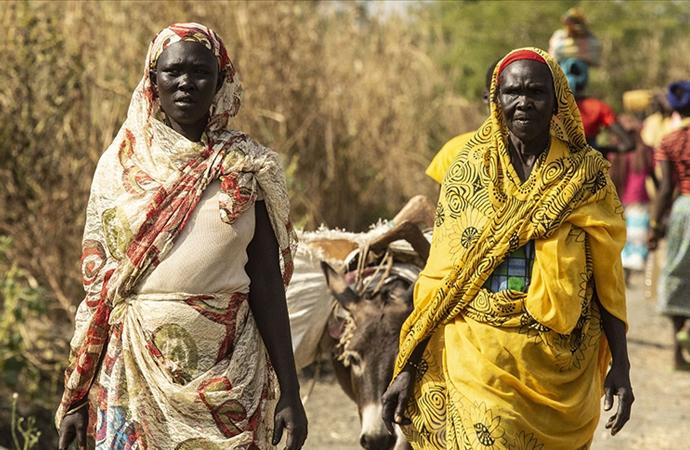 11 milyon nüfuslu Güney Sudan'da 8.3 milyon yardıma muhtaç