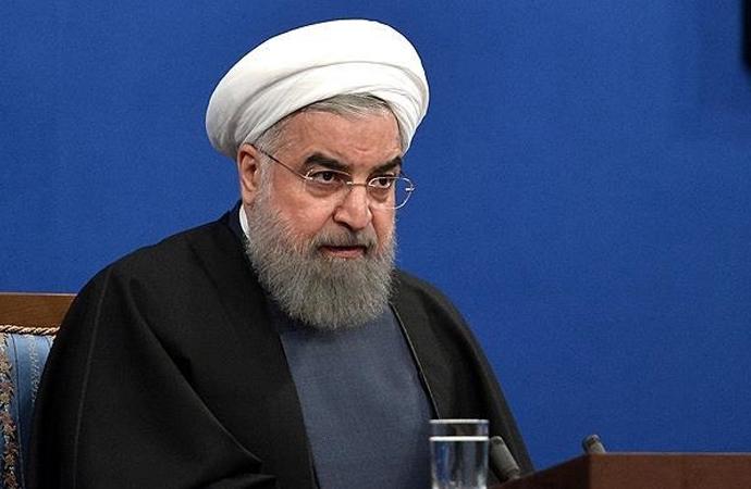 Ruhani: Yaptırımlar nedeniyle finansal kaynaklarımız kilitlendi