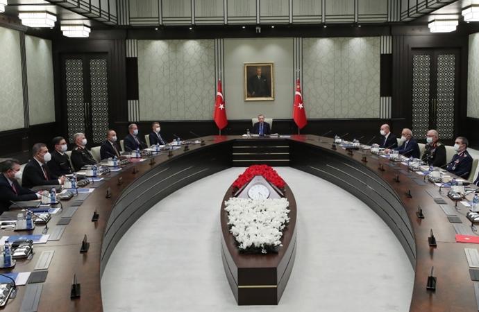 MGK Bildirisinde 'Doğu Akdeniz' vurgusu